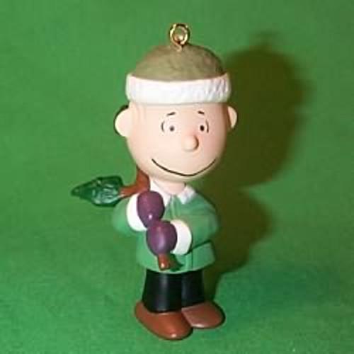 2000 Peanuts - Linus Hallmark Ornament