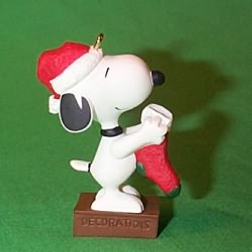 2000 Peanuts - Snoopy Hallmark Ornament
