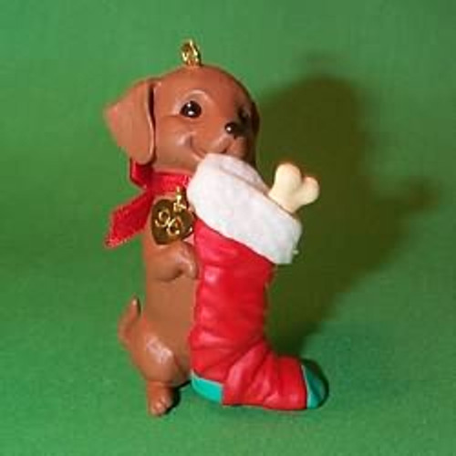 1996 Puppy Love #6 - Dachshund