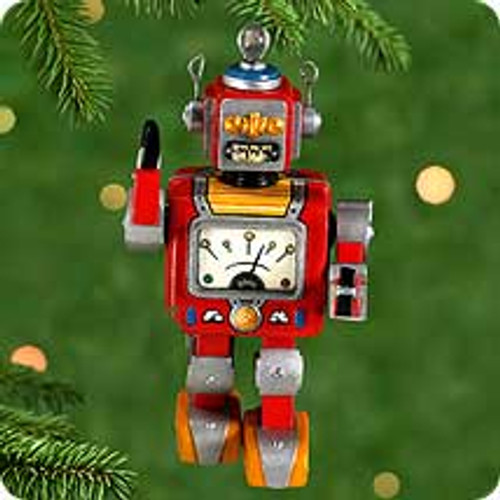 2000 Robot Parade #1 Hallmark Ornament