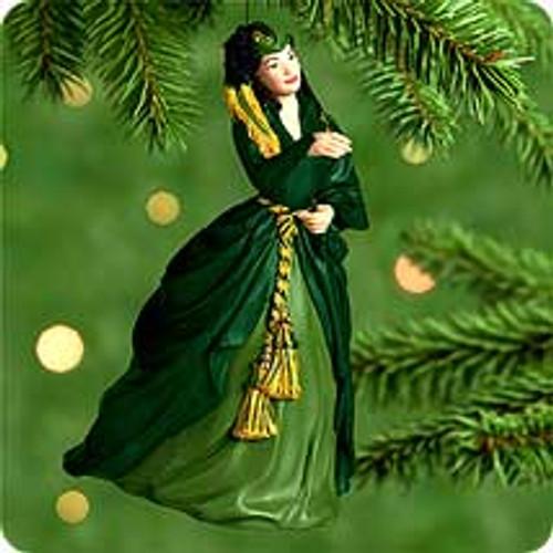 2000 Scarlett O'Hara 4F Hallmark Ornament