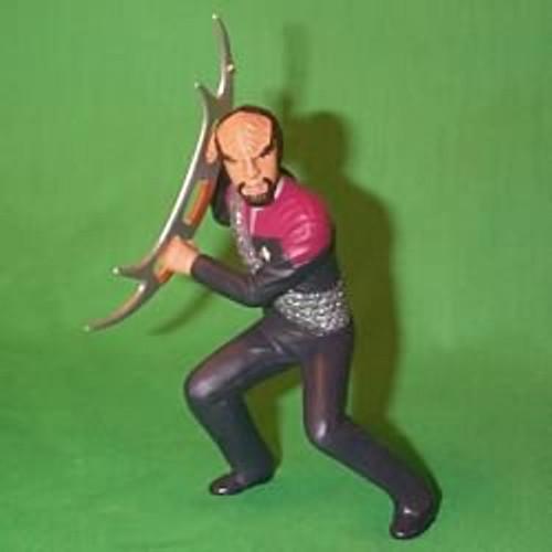 1999 Star Trek - Lt Commander Worf