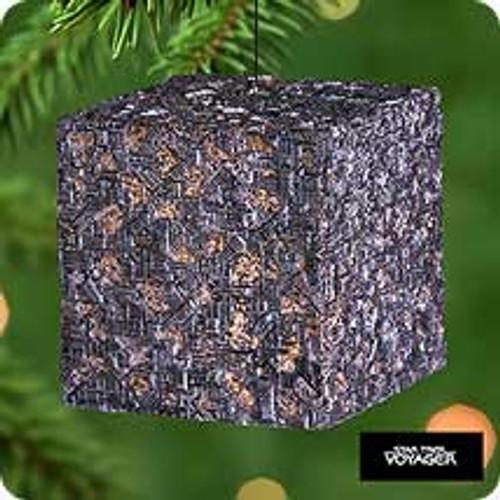2000 Star Trek #10 - Borg Cube Hallmark Ornament