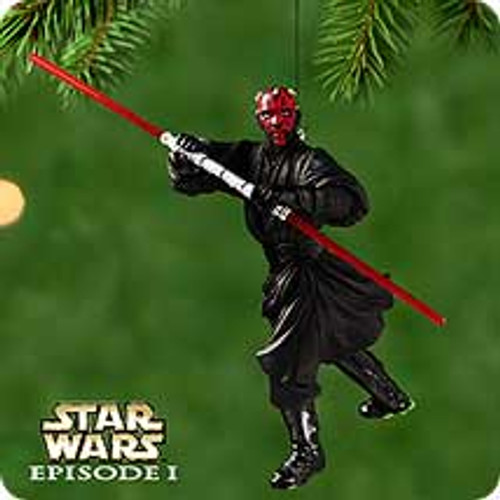 2000 Star Wars - Darth Maul Hallmark Ornament