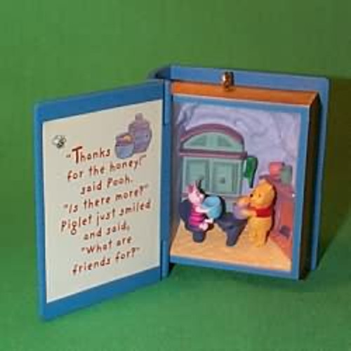 1998 Winnie The Pooh - Book #1 - A Visit From Piglet