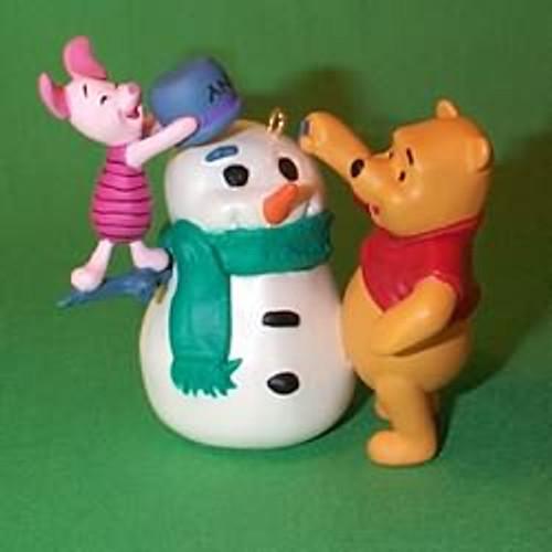 1998 Winnie The Pooh - Build A Snowman
