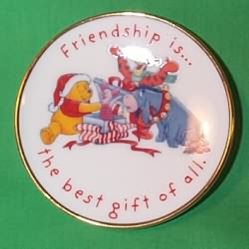 1997 Winnie The Pooh Plate