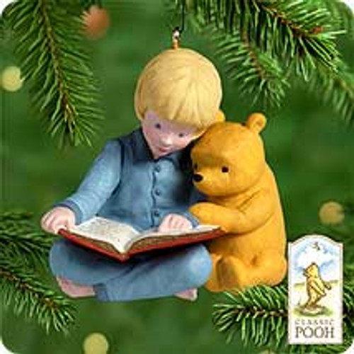 2000 Winnie The Pooh #2 - Storytime With Pooh Hallmark Ornament