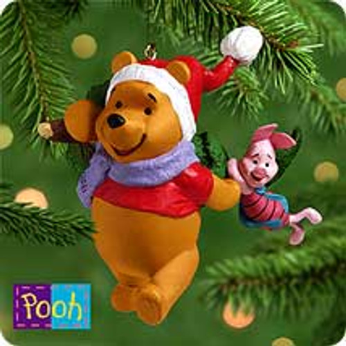 2000 Winnie The Pooh - Pooh Chooses The Tree Hallmark Ornament