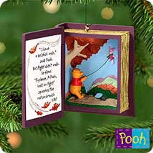 2000 Winnie The Pooh - Book #3 - Blustery Day Hallmark Ornament