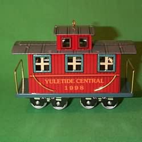1998 Yuletide Central #5F - Caboose