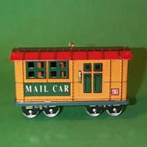 1996 Yuletide Central #3 - Mail Car