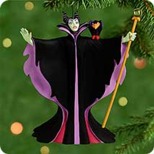 2000 Villians #3 - Maleficent Hallmark Ornament