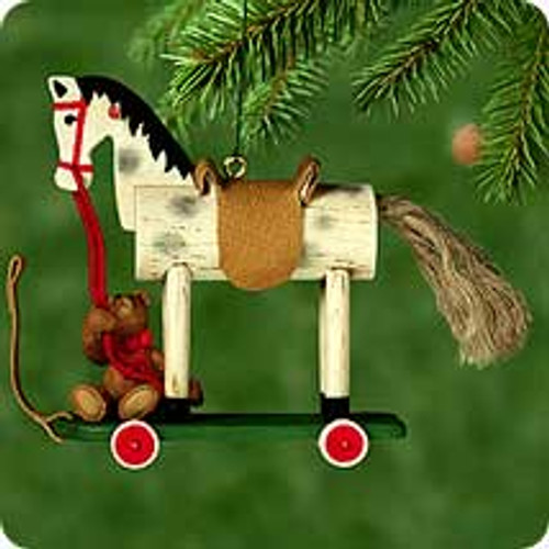 2000 A Pony For Christmas #3 Hallmark Ornament