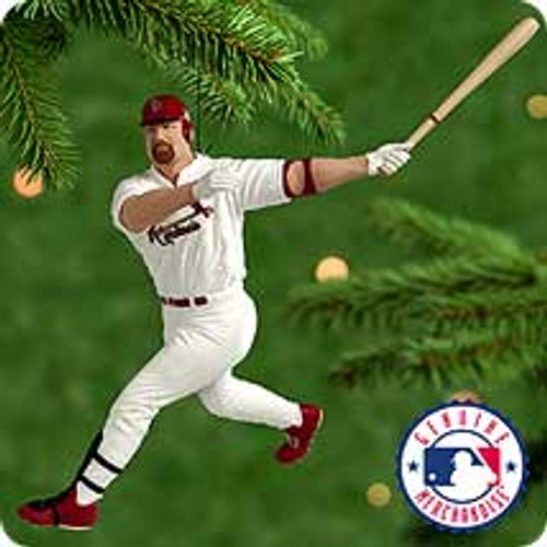2000 Ballpark #5 - Mark McGwire Hallmark Ornament