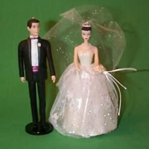 1997 Barbie And Ken - Debut Wedding