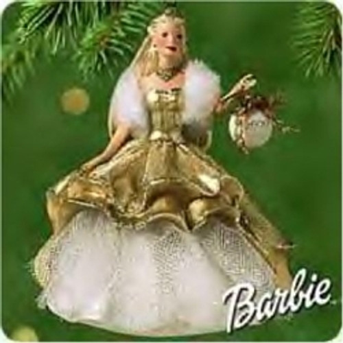 2000 Barbie - Celebration #1 Hallmark Ornament