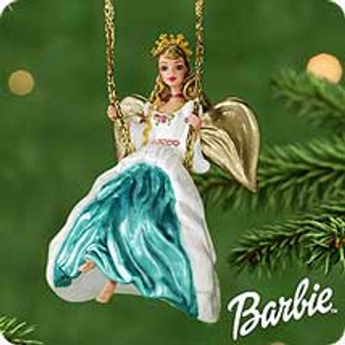 2000 Barbie - Angel Of Joy Hallmark Ornament
