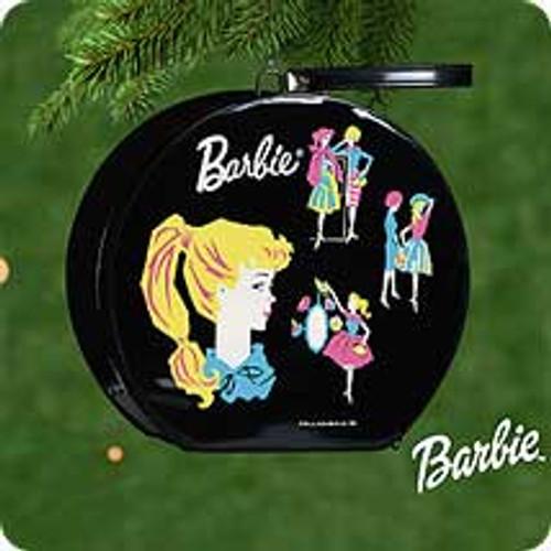 2000 Barbie - Hat Box Hallmark Ornament