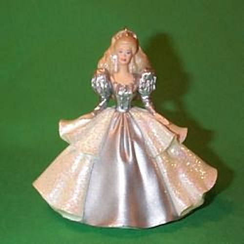2000 Barbie - Holiday - Club 92 Hallmark Ornament