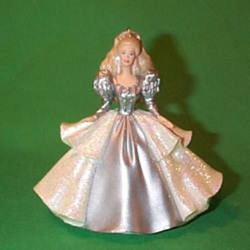 2000 Barbie - Holiday - Club 92 Hallmark Ornament