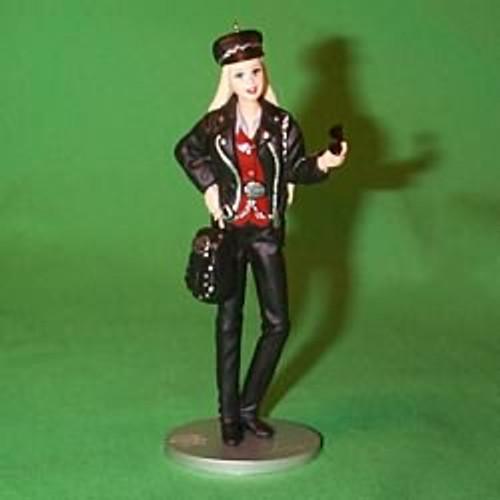 2000 Barbie - Harley Davidson Hallmark Ornament