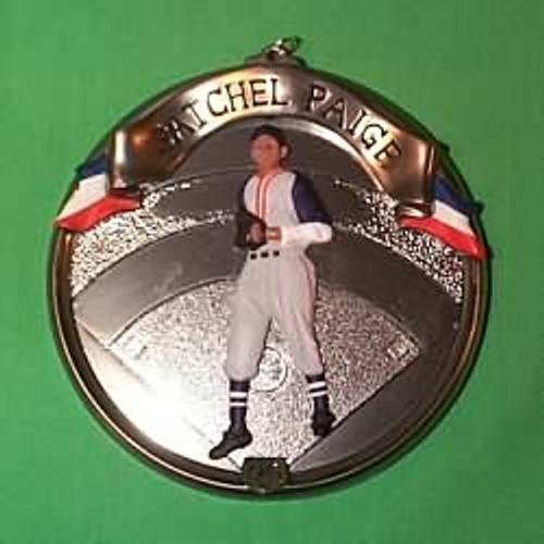 1996 Baseball Heroes #3 - Satchel Paige