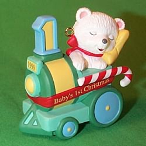 1999 Baby's 1st Christmas - Bear