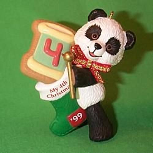 1999 Child's 4th Christmas - Bear