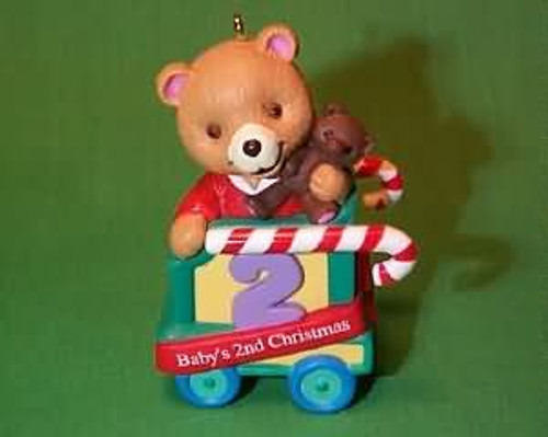 1999 Baby's 2nd Christmas - Bear