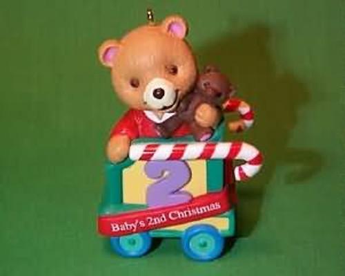 1999 Baby's 2nd Christmas - Bear