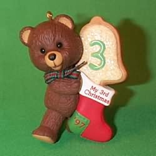 1997 Child's 3rd Christmas - Bear