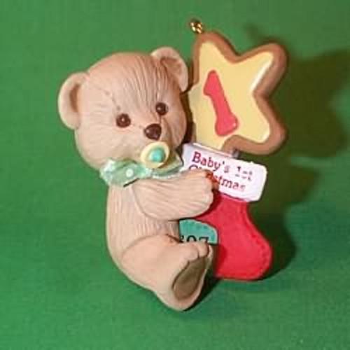 1997 Baby's 1st Christmas - Bear