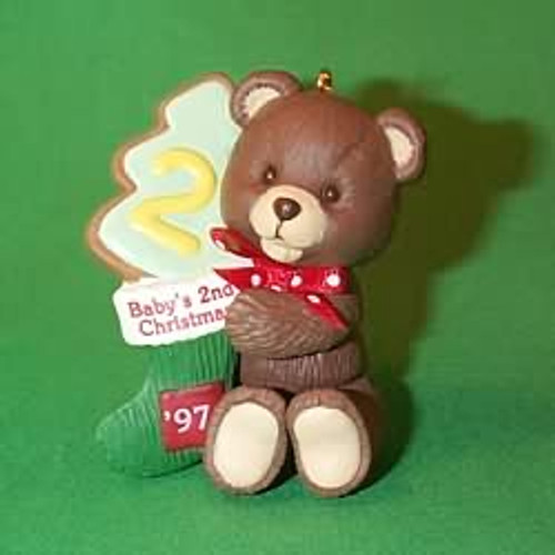 1997 Baby's 2nd Christmas - Bear