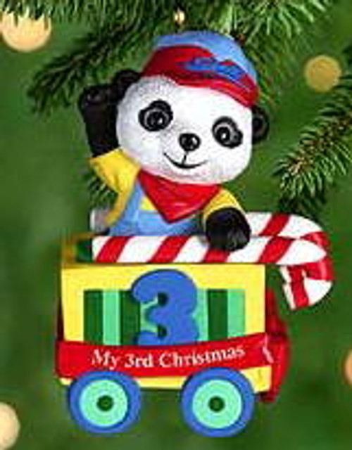 2000 Child's 3rd Christmas - Bear Hallmark Ornament