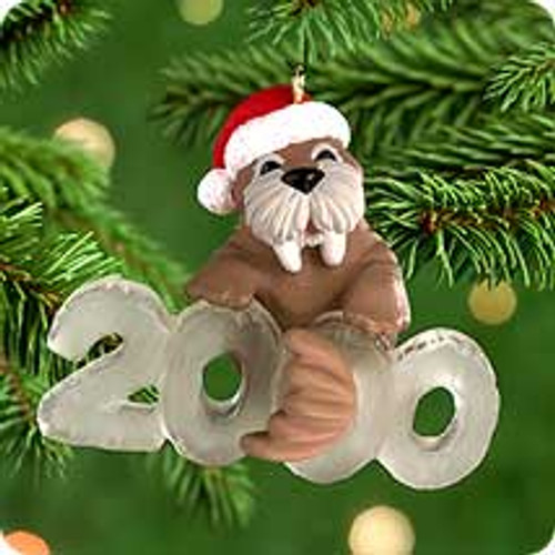2000 Cool Decade #1 - Walrus Hallmark Ornament