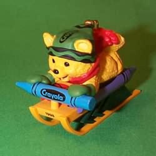 1998 Crayola #10F - Sledding