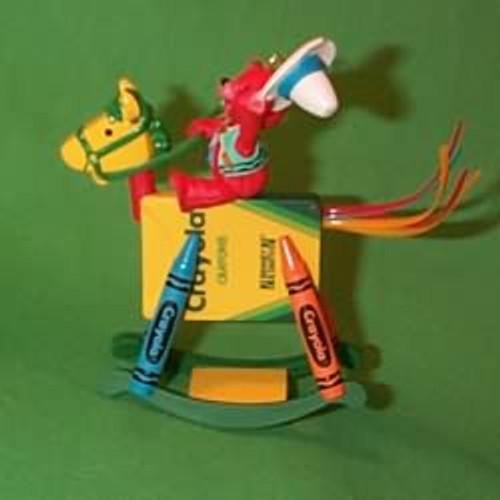 1997 Crayola #9 - Rocking Horse