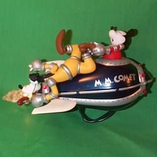 1998 Disney - Mickey's Comet