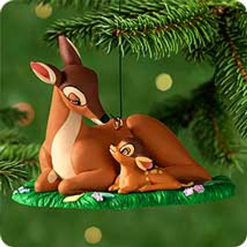 2000 Disney - Bambi - The New Prince Hallmark Ornament