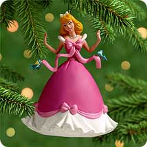 2000 Disney - Dressing Cinderella Hallmark Ornament