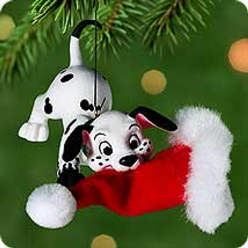 2000 Disney - 102 Dalmations Hallmark Ornament