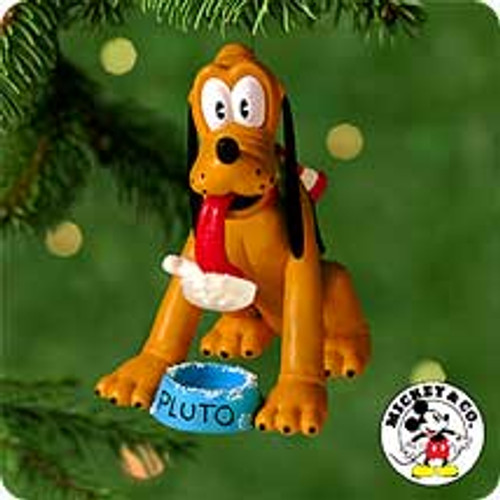 2000 Disney - Dog Dish Dilemma Hallmark Ornament