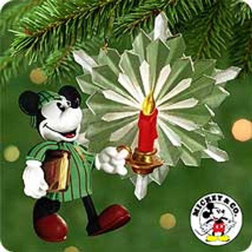 2000 Disney - Bedtime Reading Hallmark Ornament