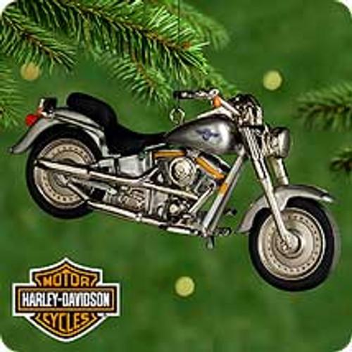 2000 Harley Davidson #2 - Fat Boy Hallmark Ornament