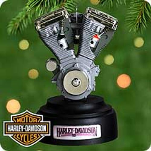 2000 Harley Engine Hallmark Ornament