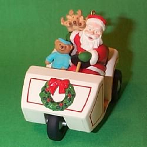 1999 Here Comes Santa #21 - Golf Cart
