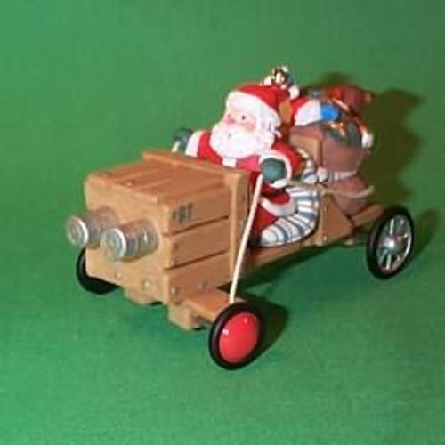 1997 Here Comes Santa #19 - Soap Box Derby Car