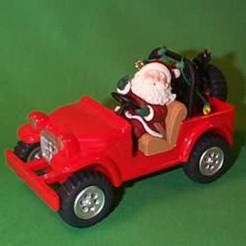 1996 Here Comes Santa #18 - 4 X 4