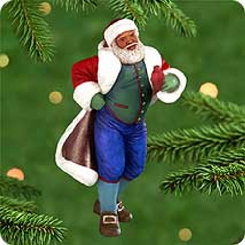 2000 Joyful Santa #2 Hallmark Ornament
